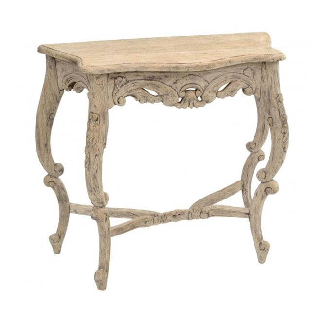 Vintage Carved Console Table
