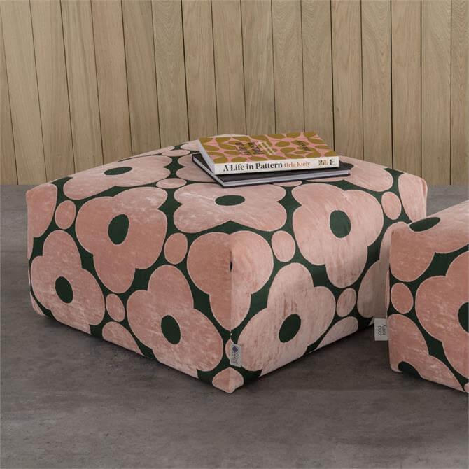 Orla Kiely Longford Large Footstool