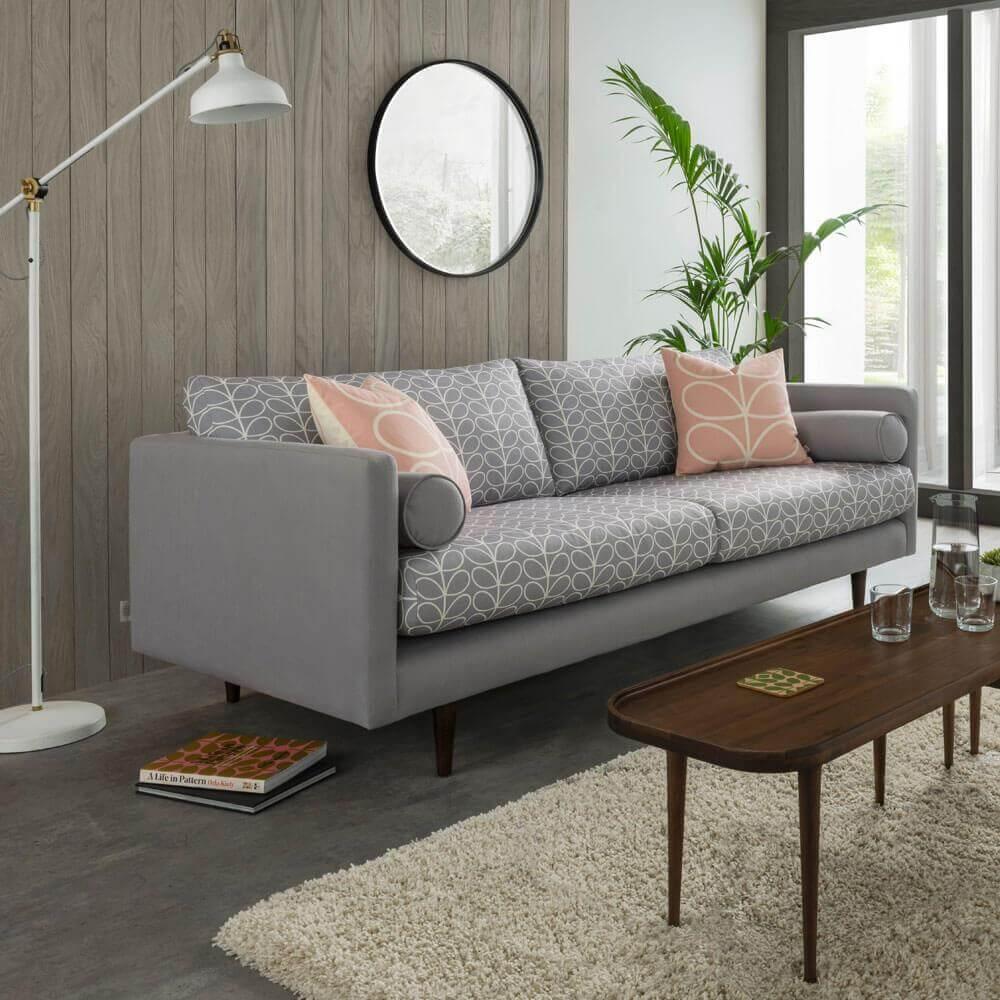 Prime Orla Kiely Mimosa Medium Sofa Machost Co Dining Chair Design Ideas Machostcouk
