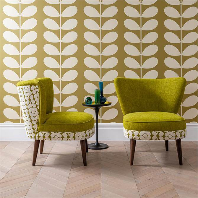 Orla Accent Chair Used: Orla Kiely Una Accent Chair
