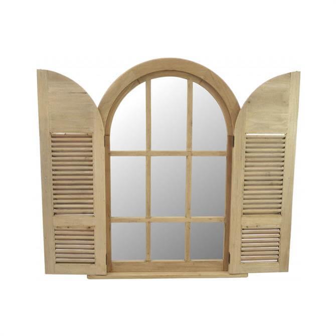 Vintage Mirror With Doors