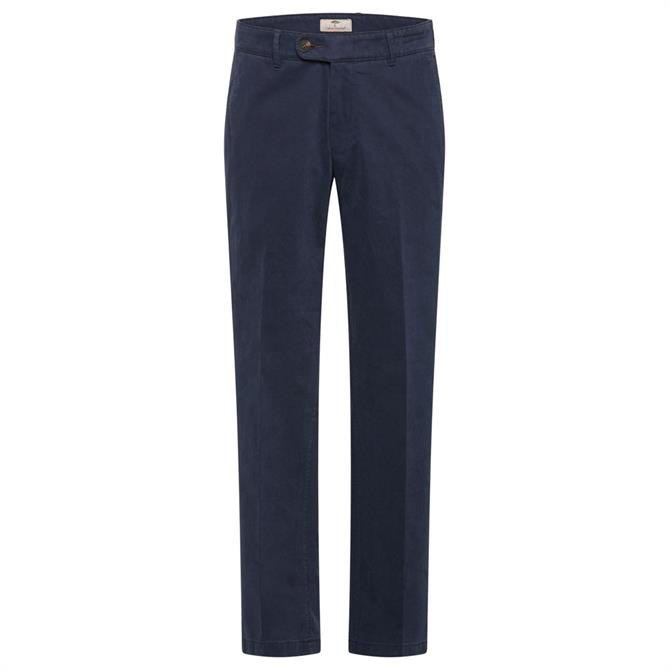 Fynch Hatton Togo Flat Front Pima Power Stretch Trousers