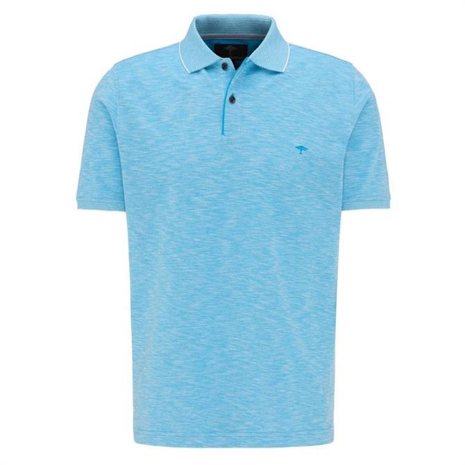 Fynch Hatton Two-Tone Polo Shirt