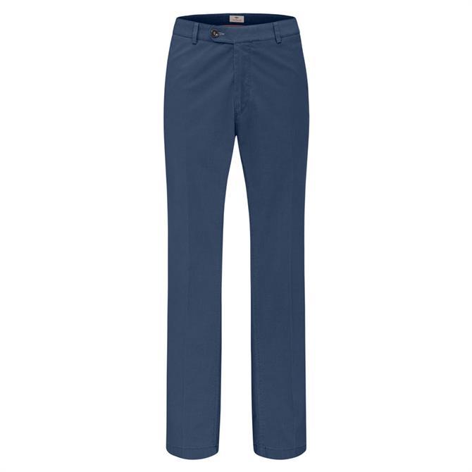 Fynch Hatton Togo Flat Front Garbadine Trousers
