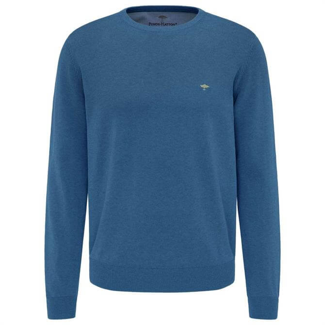 Fynch-Hatton Casual Fit Crew Neck Sweater