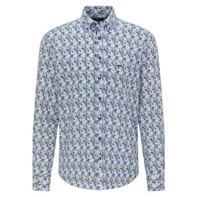 Fynch-Hatton Casual Fit Print Shirt