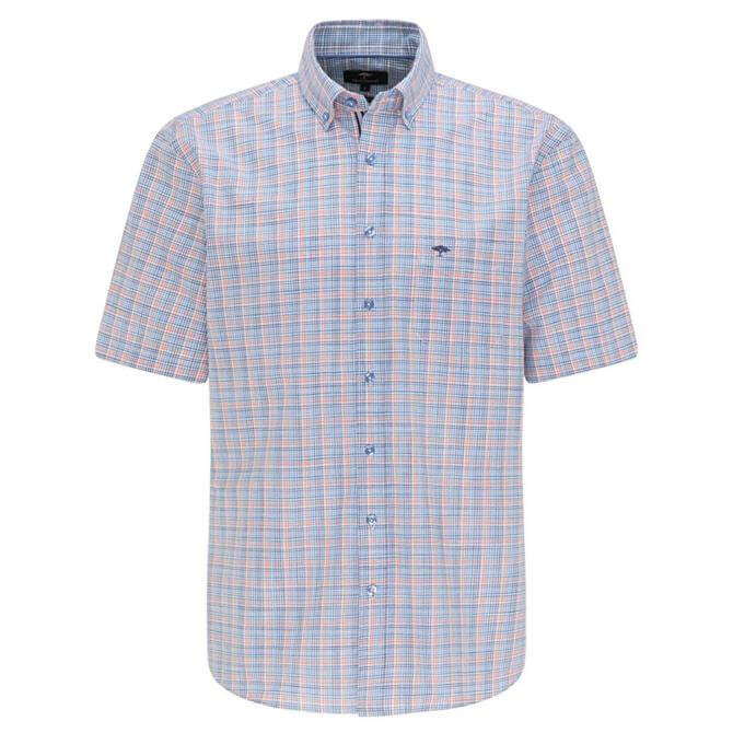 Fynch-Hatton Casual Fit Cotton Check Shirt