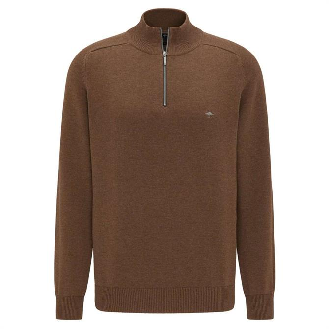 Fynch Hatton Troyer 1/4 Zip Neck Jumper