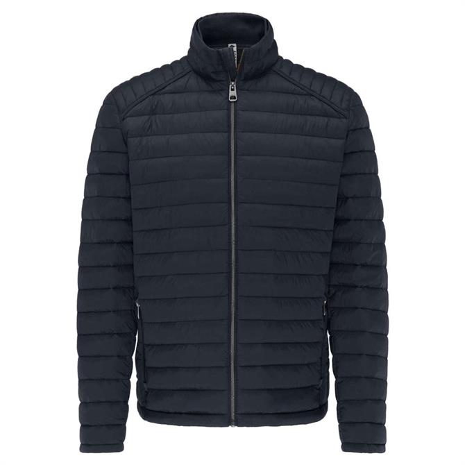 Fynch Hatton Navy Downtouch Lightweight Padded Jacket