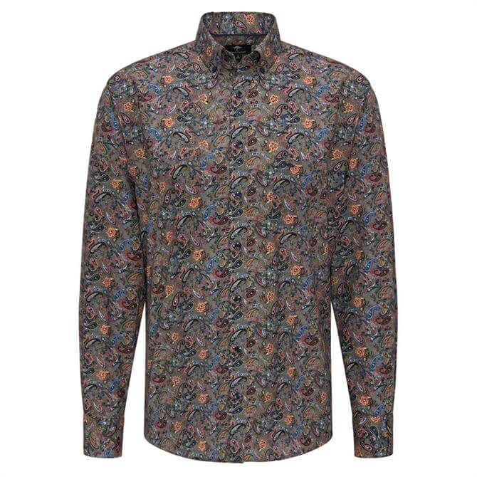 Fynch Hatton Multicolour Paisley Print Shirt