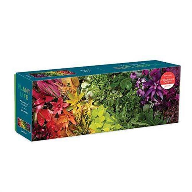 Galison Plant Life 1000 Piece Panoramic Puzzle