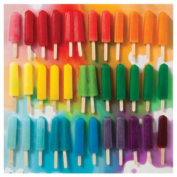 Galison Rainbowo Popsicles 500 Piece Puzzle
