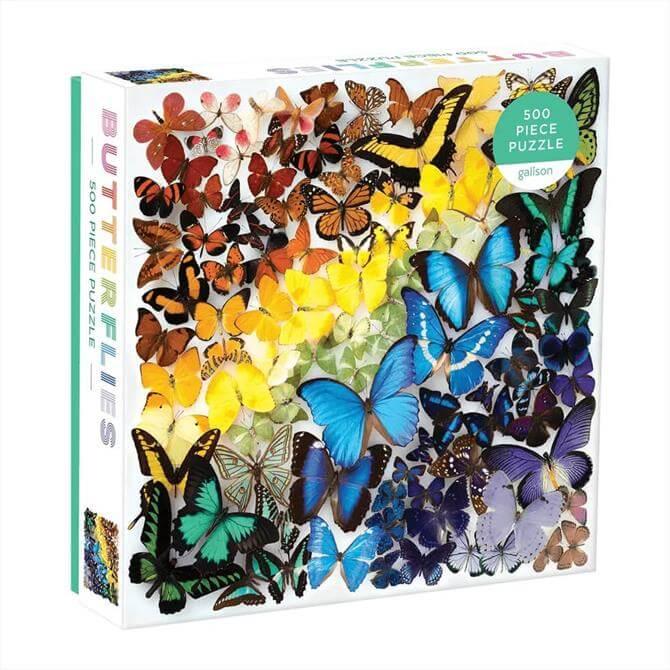 Rainbow Butterflies 500pc Jigsaw Puzzle