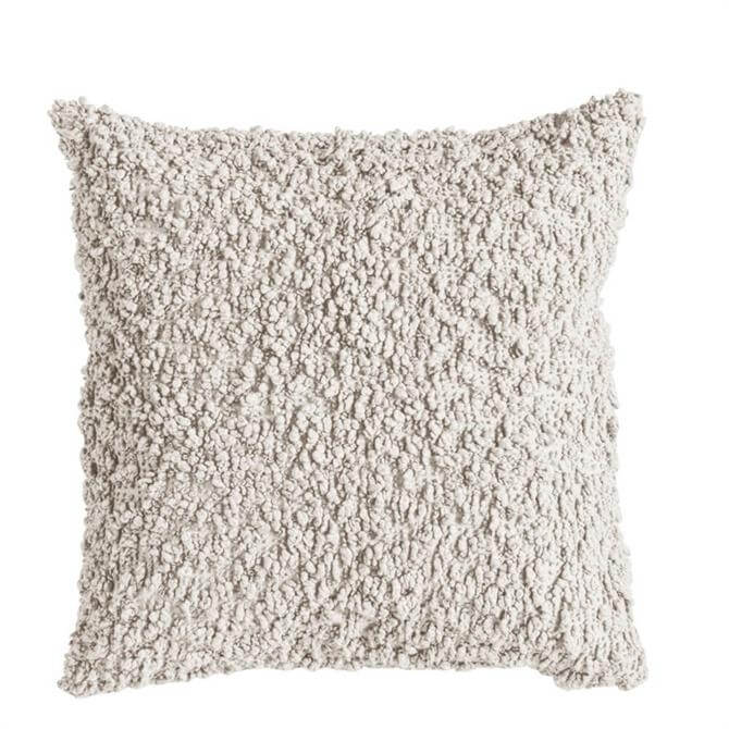 Cotton Boucle Cream Cushion