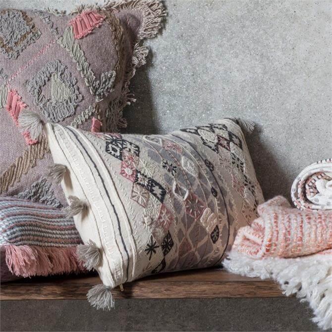 Nila Embroidered Cushion