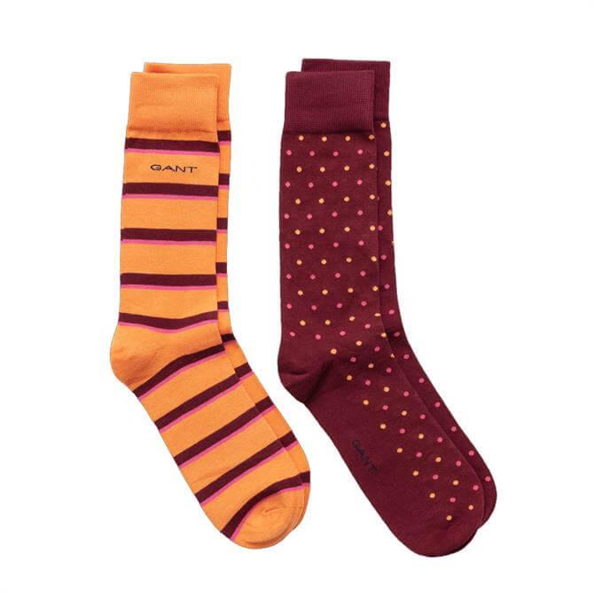 GANT Dot & Stripe Socks Gift Box