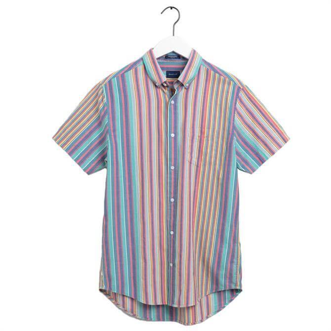 GANT Relaxed Fit Stripe Windblown Oxford Shirt