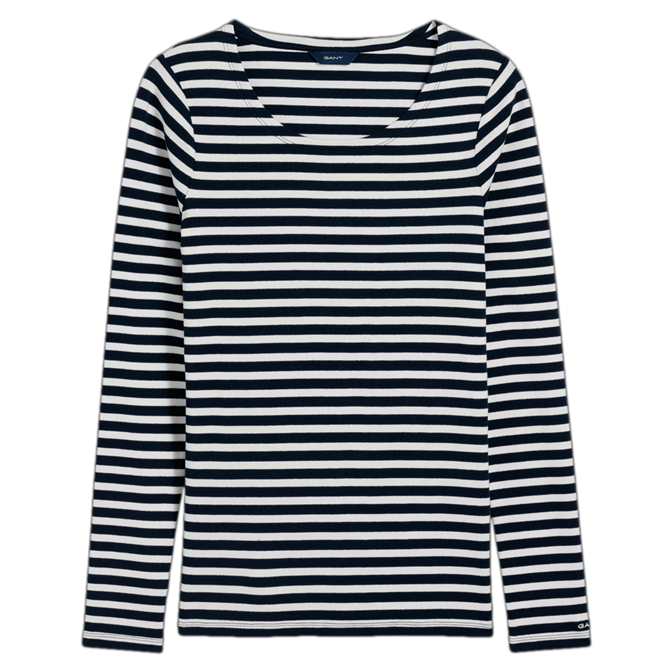 GANT Long Sleeve Rib T-Shirt