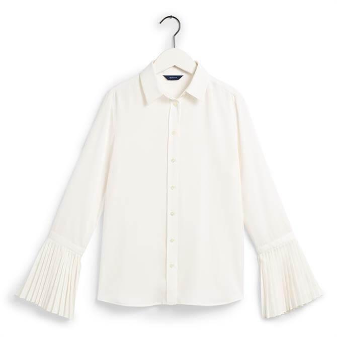 GANT Plissé Sleeve Shirt