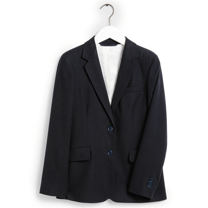 GANT Regular Fit Washable Stretch Wool Blazer
