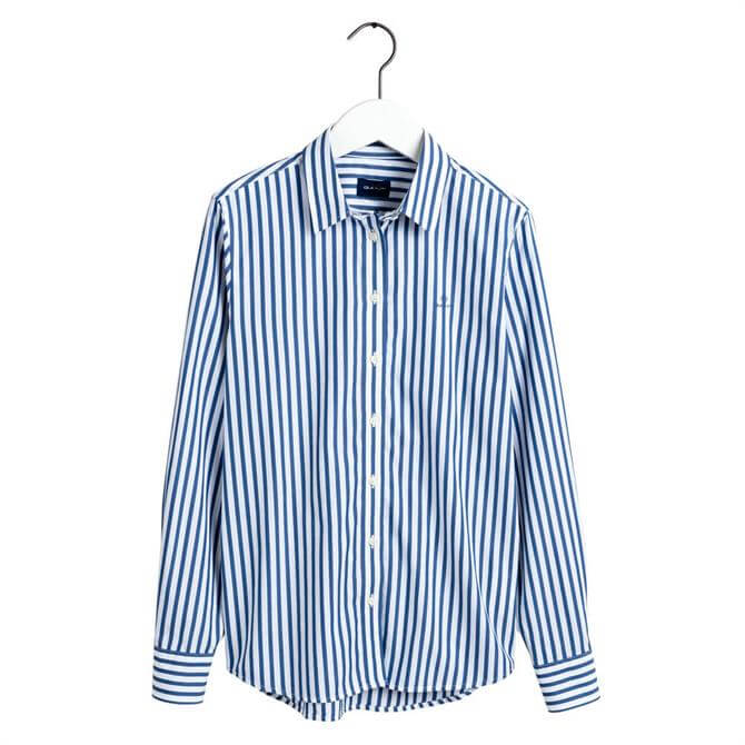GANT Cotton Broadcloth Striped Shirt