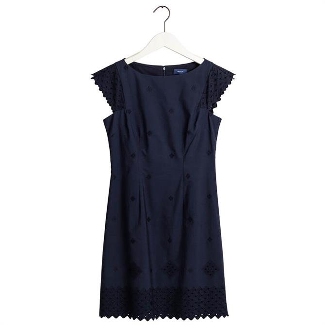 GANT Broderie Anglaise Dress