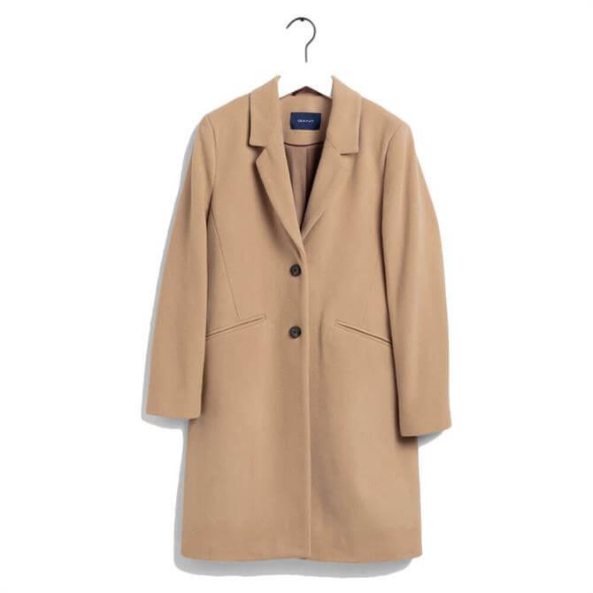GANT Classic Tailored Wool Blend Coat