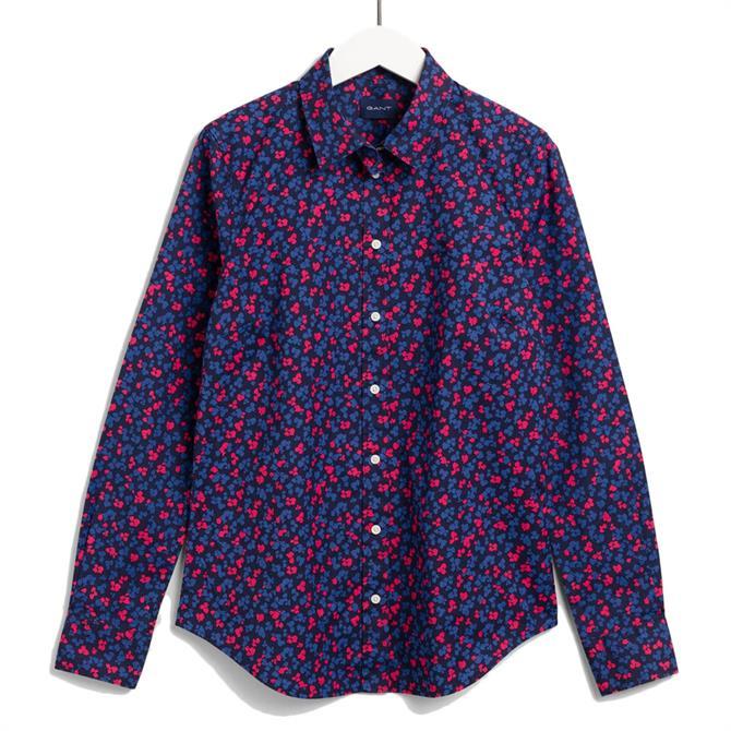 GANT Clover Garden Print Stretch Broadcloth Shirt