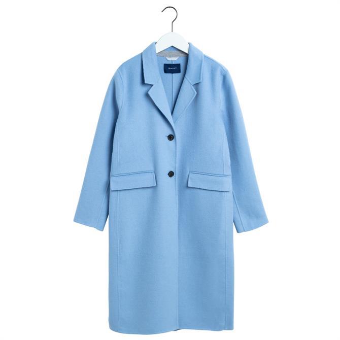 GANT Double-Faced Wool Blend Coat