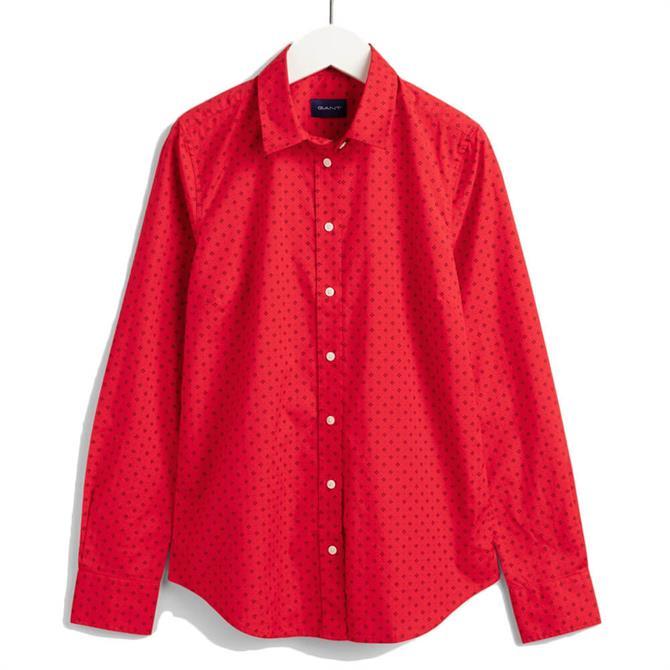 GANT Fairly Dot Stretch Broadcloth Shirt