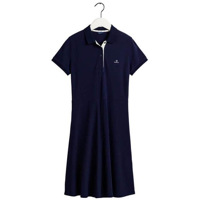GANT French Dot Detail Shirt Dress