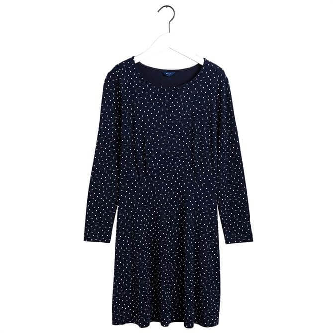 GANT French Dot Print Dress