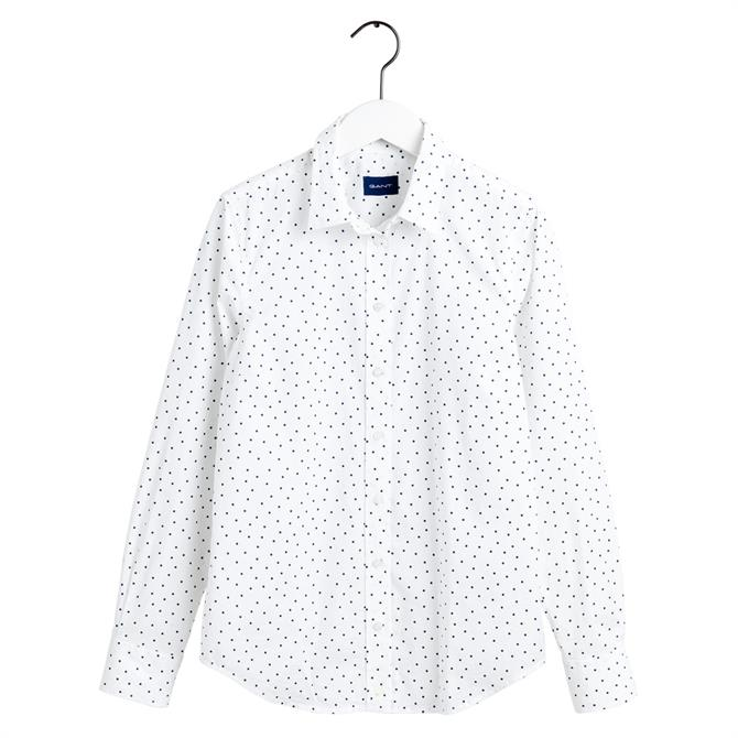 GANT French Dot Stretch Broadcloth Shirt
