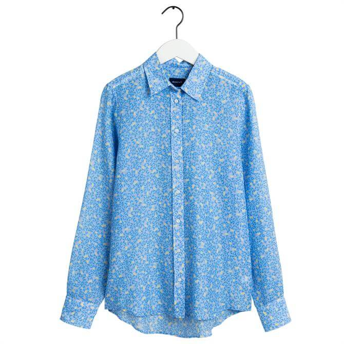 GANT Lemonade Printed Cotton Silk Shirt