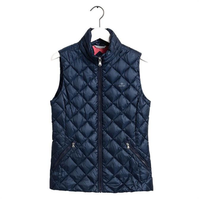 GANT Light Quilted Down Gilet