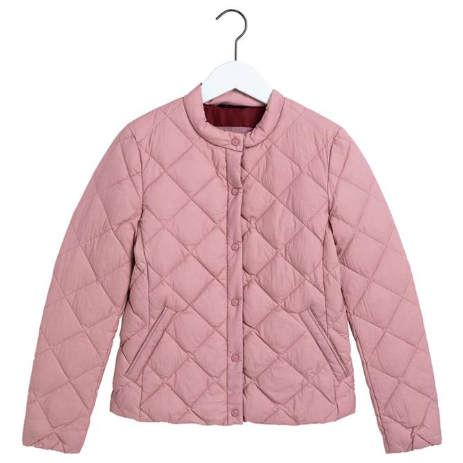 GANT Light Down Diamond Quilted Jacket