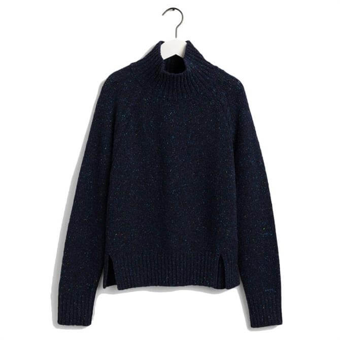 GANT Neps Cable Turtleneck Sweater