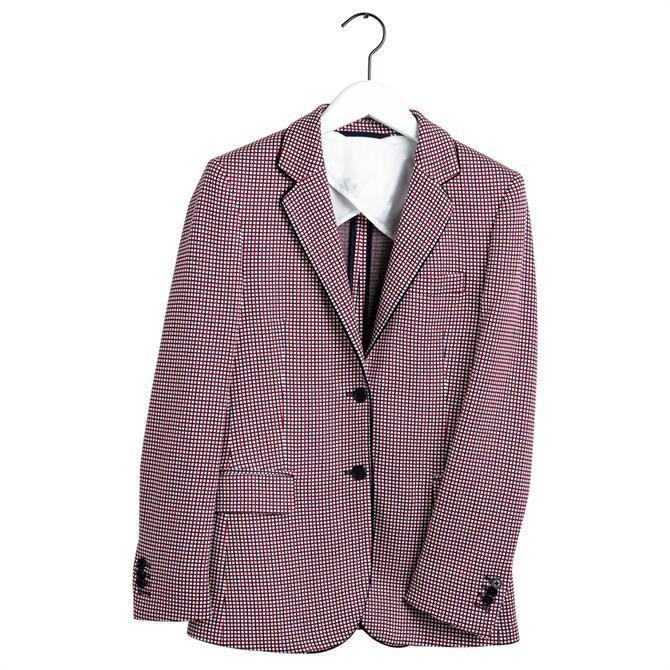 GANT Preppy Check Jersey Blazer