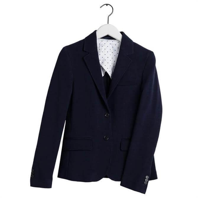 GANT Slim Fit Jersey Piqué Blazer