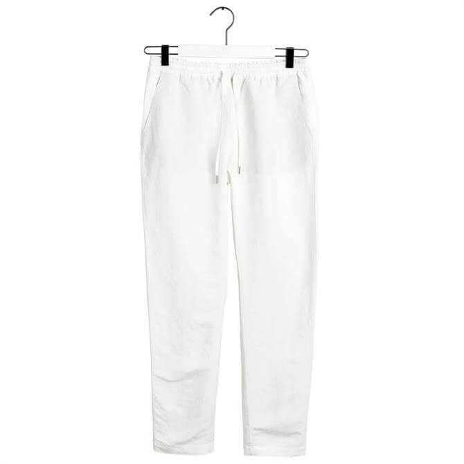 GANT Summer Linen Pull-On Trousers