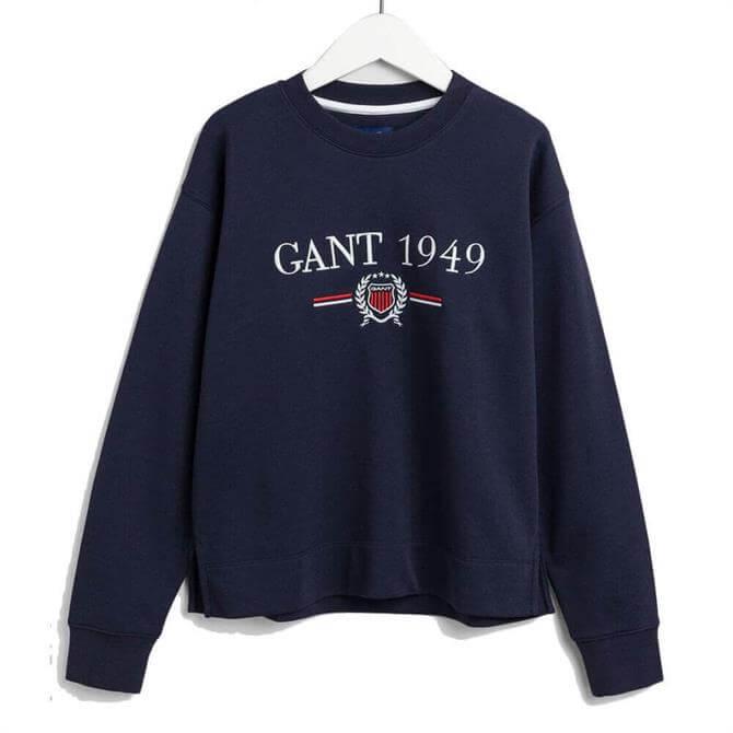 GANT 1949 Crest Sweatshirt