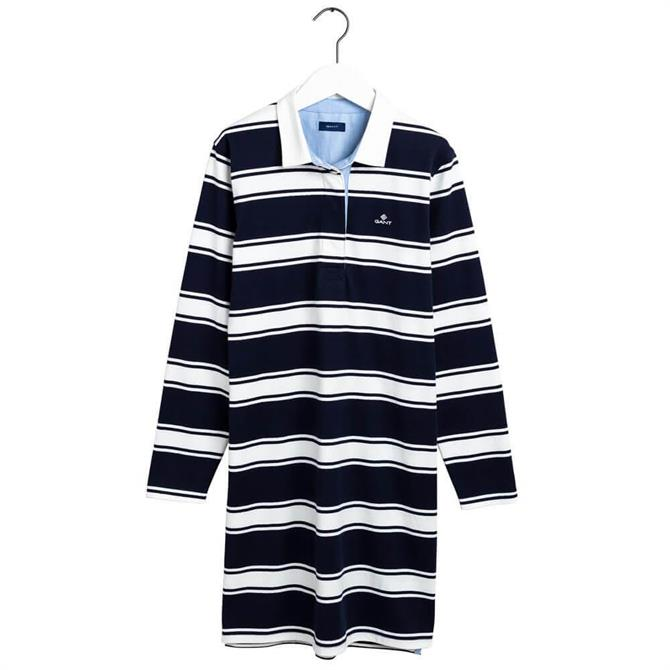 GANT Striped Heavy Rugger Relaxed Dress