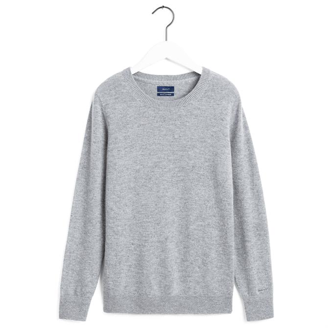 GANT Wool Cashmere Crew Neck Sweater