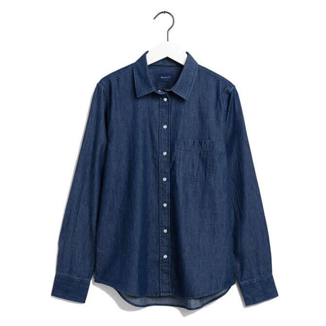GANT Chambray Contrast Shirt