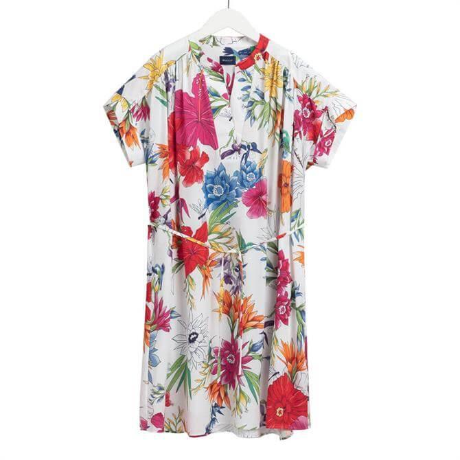 GANT Humming Floral Popover Dress