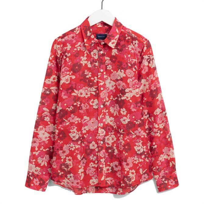 GANT Liberation Bouquet Print Shirt