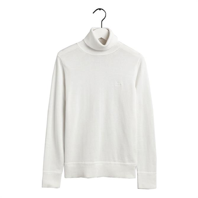 GANT Light Cotton Turtleneck Sweater