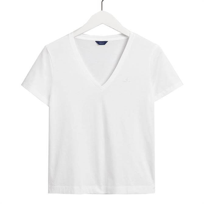 GANT Original V-Neck Short Sleeved T-Shirt
