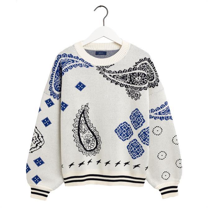 GANT Bandana Intarsia Sweater