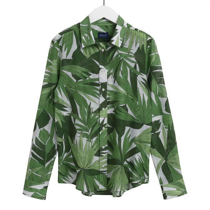 GANT Palm Breeze Cotton Silk Shirt